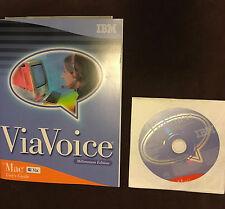 IBM ViaVoice Millennium Edition for Mac