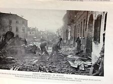 m5-1b ephemera 1940s ww2 picture street fighting in hoven