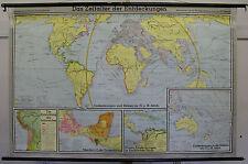 Scheda crocifissi scheda MURO TERRA EARTH monde mondo Inka Columbus Map 204x133 mappa