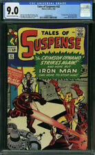 Tales of Suspense 52  CGC 9.0  1st Black Widow Cream to Off White Pages