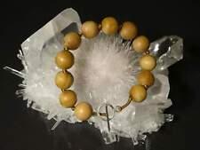 Original Mysore Sandalwood (Highest Quality) 12mm Beads Bracelet with Sterling S