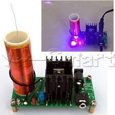 Assemblato 15W 15V-24V MINI BOBINA Tesla Plasma altoparlante di musica elettronica campo giocattolo