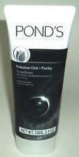 POND'S Pollution Out + Purity Facial Foam W/Activated Carbon 3.5 oz/100g each