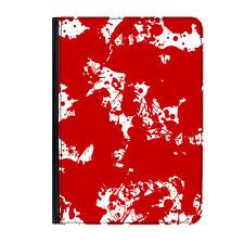 "Blood Splatter Zombie Funny Universal Tablet 9-10.1"" Leather Flip Case Cover"