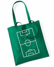 FUSSBALLPLATZ  Cotton Bag Stoffbeutel grün