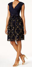 SL Fashions New Surplice Glitter Embellished Dress Size 12 MSRP$109 #GN 759 (12)