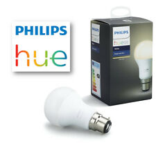 Philips Hue White Bayonet Cap B22 Dimmable LED Smart Bulb 9.5w App Controllable