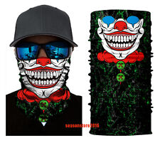 Twisty Jester Joker Face Shield Sun Mask Balaclava Neck Gaiter New