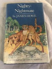 Nighty-Nightmare By James Howe 1987 Edition Hard Back Dust Jacket