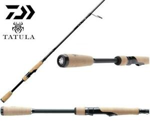 "Daiwa Tatula Hair Jig/ Neko 7'6"" Med-Medium Light Fast Spinning Rod TTU761MLMFS"