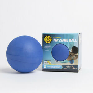 "2 x Gold's Gym 5"" Massage Ball, Core & Flexibility To Relieve Tired Sore Muscles"