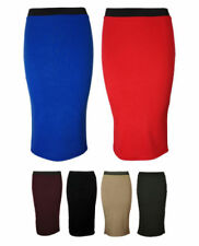Unbranded Polyester Straight, Pencil Machine Washable Skirts for Women