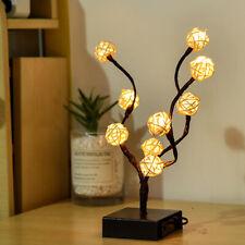LED Round Tree Lamp Battery Operated Lights Tree Lights Festive Bedroom Decor