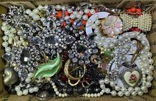 Huge Vintage - Now Jewelry Lot Estate Find Junk Drawer UNSEARCHED UNTESTED #689