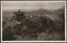 1920's CHINA GRAVURE PAGEANT OF PEKING DONALD MENNIE - VIEW FROM COAL HILL