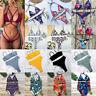 Women Bikini Set Push-up Padded Bra Bandage Swimsuit Triangle Swimwear Bathing P