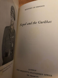 Vintage Book Nepal And The Burkhas 1971 . Printed And Published By Her Majesty's