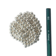 200 STRONG MAGNETS 5mm Bright Silver Neodymium Spheres Balls - Free Shipping
