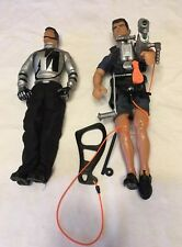 "Lot Of 2 Hasbro International 11"" Military Action  Figures"