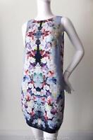 FOREVER NEW Short Dress  NEW Sleeveless Floral Shift Size 10 - 12 US 4 -6