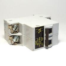 AEG Elfa E22 U10A Leitungs-Schutzschalter / Sicherung, 2-pol Automat, NOS