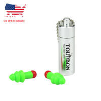 Tourbon Ear Plugs with White Carry Case US Warehouse Fast Delivery