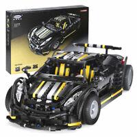 "Dream Car ""Balisong Small Supercar"" von Xingbao Auto Klemmbausteine Spielzeug"