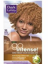 Dark and Lovely Go Intense! Hair Color No.10, Golden Blonde, 1 ea (Pack of 2)