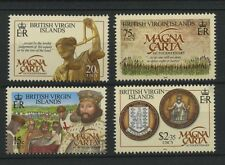 (W0624) MAGNA CARTA, BR. VIRGIN ISLANDS 2015, MNH/UM, SET, SEE SCAN