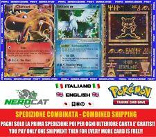 🍀Carte Pokémon LEGGENDARIE STARTER I° GENERAZIONE da 1 a 6,99€ Pokemon lotto🍀