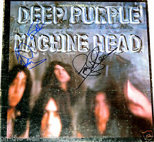 DEEP PURPLE HAND SIGNED AUTOGRAPHED MACHINE HEAD ALBUM! WITH PROOF + C.O.A.!