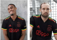 More details for ajax amsterdam 21/22 third jersey bob marley 🟢🟡🔴 three little birds✅x large ✅