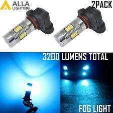 2x 9140 9145 LED Fog Light Kit Driving Bulb Lamp for Hummer H3 8000K Light Blue