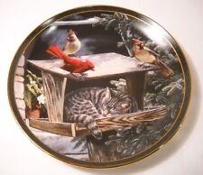 "Bradford Exchange - Nosy Neighbors ""Cat Nap"" - Collector's Plate #2926F (P46)"