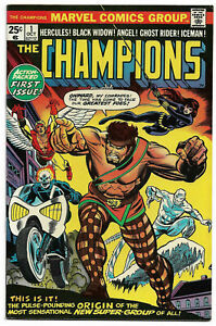 CHAMPIONS#1 VF/NM 1975 MARVEL BRONZE AGE COMICS