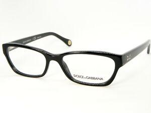 NEW D&G Dolce&Gabbana DD1216 501 BLACK EYEGLASSES GLASSES FRAME 52-16-135mm