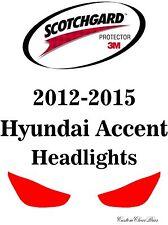 3M Scotchgard Paint Protection Film Clear Pre-Cut Fits 2012 2015 Hyundai Accent