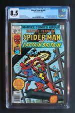 Marvel Team-Up #65 CGC 8.5 1st US CAPTAIN BRITAIN WHITE PAGES