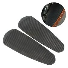 Black Floorboard Footboards Insert Pad Fit For Indian Chief Classic 2014–2018