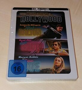 Once upon a Time in Hollywood 4K + Blu Ray Steelbook NEU&OVP