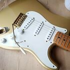 2004 Fender 50th Anniversary Classic 50's Stratocaster in Aztec Gold with updrds for sale