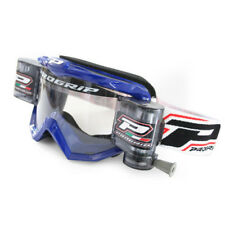 PROGRIP 36mm XL ROLL OFF GOGGLE BLUE X/LARGE RNR SYSTEM YAMAHA YZF Motocross KTM