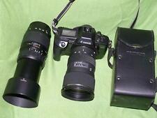 Canon EOS 600 + Tamron 70-300mm + Tokina AT-X PRO 2,8/28-80 Pro Aspherical