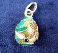 Fine Imperial Russian silver-gilt egg