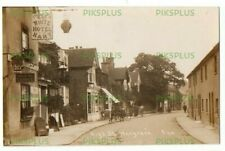 More details for old pub postcard the white hart wargrave high street berks real photo dated 1917