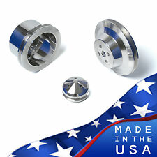 Ford Underdrive Pulleys - 289 Kit V-Belt 3 Bolt 302 SBF Billet Aluminum Set