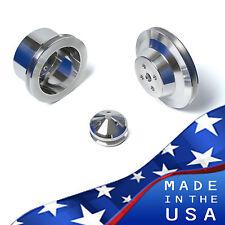 Ford Underdrive Pulleys - 289 Kit V-Belt 3 Bolt 302 SBF Billet Aluminum Set