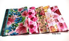 25 MIX 5 FLOWERS DESIGNER 10X13 MAILER POLY MAILING BAGS Des: 1,3,7,18,30