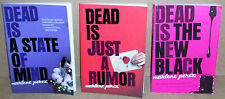 3 BOOKS BY MARLENE PEREZ DEAD IS A STATE OF MIND DEAD IS JUST A RUMOR NEW BLACK
