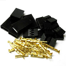 C1001GMF5 Compatible JR Set Male Female Battery Servo Connector Plug Full Gold 5